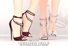 REIGN. VERSANNI HEELS (Kenadee Reign) Tags: reign reignberry shoes slink secondlife heels hourglass freya n21 maitreya mesh tmp themeshproject belleza body blueberry