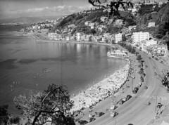 153; Elevated view of Oriental Parade - Circa 1950 (Wellington City Council) Tags: wellington historicwellington 1800s 1900s 1950s