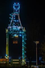xc52 (pbo31) Tags: oakland california eastbay alamedacounty september fall 2016 bayarea nikon d810 color boury pbo31 black dark night portofoakland harbor bay crane port lift prescott xc 52