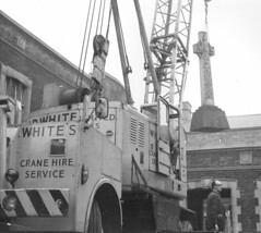 Foden & Coles / Neal combination....??? (Bournemouth 71B / 70F) Tags: mobile crane head boom block chassis hook derrick root heavy jib strut sections slew ballast lifting hoist telescopic counterweight outriggers