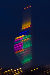Spinnaker Tower Xmas Lights Abstract (fstop186) Tags: christmas xmas blue red abstract green yellow canon iso3200 lights movement illumination beam 7d laser spinnakertower colored multicolored oldportsmouth icm lighttrail portsmouthharbour canonef100400mmf4556lisusm intentionalcameramovement cameracamaraderie