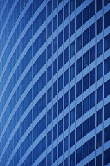 Big Blue Curve (rjseg1) Tags: chicago glass architecture fox curve wacker curtainwall pedersen kohn