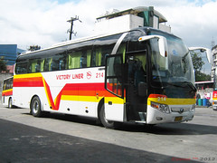 Victory Liner 214 (Next Base) Tags: bus model shot suspension air engine location terminal victory 45 number chassis seating 213 cubao inc configuration liner capacity 214 2x2 yutong zk6107ha zk6107cra