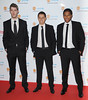 David de Gea, Javier Hernandez, Antonio Valencia Manchester United Football Team attend the UNICEF Gala Dinner