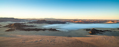 """Mist at Sunrise from balloon in  Sossusvlei Namibia • <a style=""""font-size:0.8em;"""" href=""""https://www.flickr.com/photos/21540187@N07/8291677723/"""" target=""""_blank"""">View on Flickr</a>"""