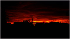 bloody sky (Bbursson) Tags: leica sunset red urban rot nature night germany dark abend afternoon sonnenuntergang natur m8 12 35 nokton ulm voigtlnder aspherical tomerdingen