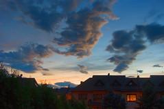 Chmury o zmierzch 8 (Hejma (+/- 4800 faves and 1,5milion views)) Tags: sunset red cloud storm colour clouds landscape daylight december estate autum poland polska jesie wiato kolor czerwony krajobraz grudzie osiedle zmierzch czarnechmury obok okietkowo