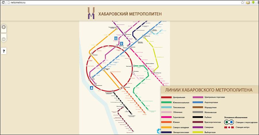 Карта интерактивная, каждый