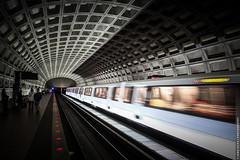 Into the Darkness (Jano Silva DC) Tags: arlington subway dc movement metro tunnel trains fujifilm ballston stations x10 flickraward flickraward5