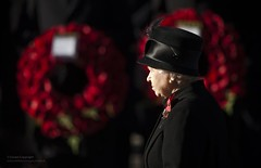 Her Majesty The Queen at the Cenotaph in London (Defence Images) Tags: uk family london elizabeth unitedkingdom military royal queen 2nd ii second british cenotaph remembrance hm defense royalty defence qe2 ceremonial hermajesty