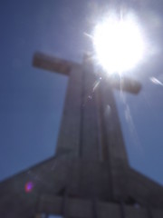 Cruz del Tercer Milenio (Piera L.) Tags: chile summer sun church coquimbo view unfocus laserena cruzdeltercermilenio