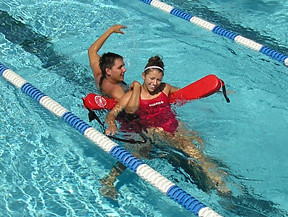 Photo - Lifeguard training