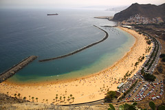 Tenerife - Playa de las Teresitas (endorkazan) Tags: beach landscape tenerife canaryislands playadelasteresitas