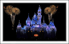 Disneyland fireworks (wyattgphotography) Tags: christmas lights fireworks disneyland mickey walt crowds coverpage stunningnikon