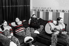 52 Project - Little Parts Of Me (MakeLifeMemorable) Tags: fun tripod guitars multiplicity week1 clones clone slippers a77 multipleexposures redandblackandwhite sonyalpha newprojects 52project makelifememorable lonegungrrly elowrey littlepartsofme
