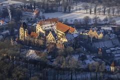 Trausnitz Castle (Aerial Photography) Tags: schnee winter snow castle by la aerial middleages deu burg settlement luftbild landshut luftaufnahme mittelalter bayernbavaria deutschlandgermany ndb burgtrausnitz 15jahrhundert 05012002 fotoklausleidorfwwwleidorfde d3018462