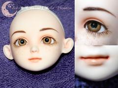 BJD Face Up - Bobobie Resinsoul Isabella (IzabethS) Tags: natural bjd freckles abjd balljointeddoll faceup bobobie bobobieisabella resinsoul izasfaceups