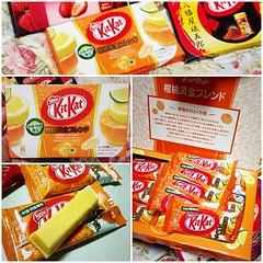 #kitkat the serie รส #orange #kyushu รสจะมาจาก เลม่อน มะนาว ส้ม รสอร่อยดีครับ แต่ให้ความรู้สึกทานเวเฟอร์ขนมปีป เพราะฉะนั้นจึงเป็นรสที่น่านำมาฝากด้วยเรื่องของรูปลักษณ์ แต่รสชาติไม่แปลกเท่าไรครับ