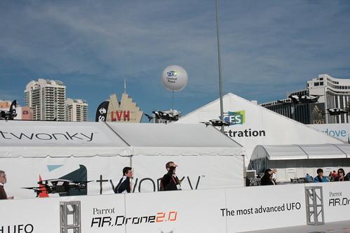 CES 2013 - Parrot AR.Drones