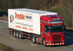 Scania R620 SL11 EAF (gylesnikki) Tags: red truck scotland scottish artic freight drysdale