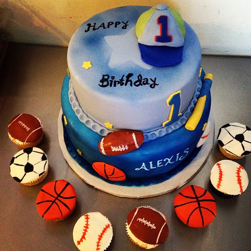 Flickriver Photoset Birthdays By Yahairam - All star birthday cake
