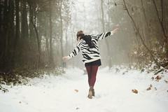 Snow (L e t i) Tags: snow girl sister neve viola castello lv tortona scarletd