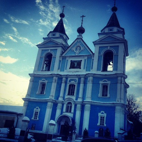 #belarus #church #mozyr #winter #january #2013