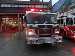 Vancouver Fire Engine 2 (Hall 7 Emergency Photography) Tags: rescue vancouver fire sirius services spartan gladiator e2 engine2 smeal cafs vfrs