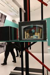 photoset: Theatermuseum: Friedrich Kiesler. Die Kulisse explodiert (bis 24.2.13)  Peter Handke und das Theater (bis 8.7.13)