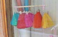 Sunday Colours - Tutus (Pushapoze) Tags: italia italy puglia pouilles lecce ballet tutuskirt vitrine vetrina storewindow degas