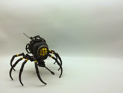 Spider Gunner VIII (SuperHardcoreDave) Tags: lego moc drone mecha spider mechanical weapon future scifi