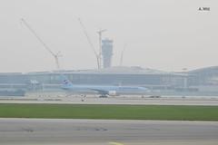 Korean Air 777 (A. Wee) Tags: korea  incheon airport  seoul  koreanair  boeing 777