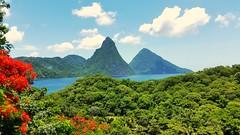 Pitons - Saint Lucia (Lonfunguy) Tags: pitons saintlucia unesco mountains caribbean landscape