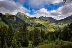 Pointe de Chalune avec le Roc d'Enfer (glassonlaurent) Tags: montagne le roc denfer france haute savoie 74 paysage pointe de chalune