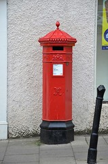 Penfold pillarbox, Richmond. (stavioni) Tags: queen victoria victorian penfold post postbox box pillarbox red richmond