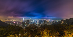 Look at Hongkong (alexhfotoblicke) Tags: hongkong asia nikond750 nikon night city victoriaharbor victoriapeak skyline