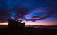 Color blast (Explored) (Eduardo Regueiro) Tags: color sunrise amanecer colores cielo nubes corua galicia espaa spain menhires monumento