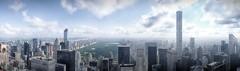 New York City, Rockefeller Center, Central Park View (Pix-elist) Tags: new york city panorama rockefeller center observation deck highrise skyline 432 park avenue 426m