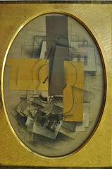 """Verre, violon et papier  musique"", 1912, Georges Braque (1882-1963), Muse Ludwig, Cologne, Rhnanie du Nord-Westphalie, Allemagne. (byb64) Tags: museludwig peterludwig museumludwig cologne kln colonia rhnaniedunordwestphalie nordrheinwestfalen northrhinewestphalia renaniadelnortewestfalia renaniasettentrionalevestfalia rhnanie rhineland rheinland renania ville allemagne deutschland germany germania alemania europe europa eu ue rfa nrw stadt ciudad town citta city muse museum museo artmoderne xxe 20th artcontemporain verreviolonetpapiermusique braque georgesbraque cubisme cubiste tableau painting cuadro naturemorte stilllife stillleben bodegn naturamorta objets things cosas objetos"
