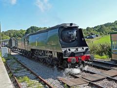34070 (Hobgoblin737) Tags: swanage railway