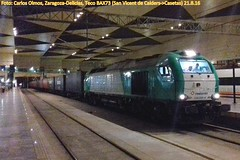 Teco en Zaragoza-Delicias (C.Olmos) Tags: teco continental rail 335 vossloh angel trains zaragoza delicias san vicent de calders casetas