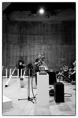 John Butcher/Alison Blunt/Chris Burn/Angharad Davies/Rhodri Davies/John Edwards/Dominic Lash/Mark Sanders playing Tarek Atoui's Reverse Collection @ Tate Modern, London, 16th September 2016 (fabiolug) Tags: johnbutcher alisonblunt chrisburn angharaddavies rhodridavies johnedwards dominiclash marksanders ensemble tarekatoui reversecollection thereversecollection art contemporaryart improvisation improv tatemodern tate thetanks london music gig performance concert live livemusic leicammonochrom mmonochrom monochrom leicamonochrom leica leicam rangefinder blackandwhite blackwhite bw monochrome biancoenero 35mmsummicronasph 35mmf2summicronasph summicronm35mmf2asph summicron35mmf2asph 35mm summicron leicasummicron leica35mm sopranosax sopranosaxophone sax saxophone
