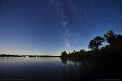Lake Wassookeag, Dexter (Greg from Maine) Tags: nightsky starlight lakewassookeag dextermaine maine dreaming stars lake water