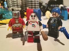 Suicide Squad (JaseTJ) Tags: deadshot captainboomerang harleyquinn suicidesquad lego