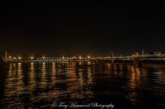 Birkenhead Ferry Terminal (phat5toe) Tags: birkenhead ferryterminal rivermersey wirral night lights reflections longexposure nikon d300