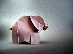 Elephant - Leyla Torres (Rui.Roda) Tags: origami papiroflexia papierfalten elefante elephant leyla torres