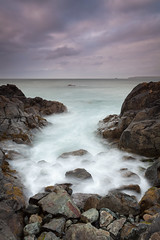 Water (Lars verb) Tags: cornwall england water stone rock sky sea wave landscape longexposure evening summer seaside seascape canoneos5dmarkii canonef1740mmf4lusm leendgrad