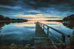 Selenter See (Jenner Ka) Tags: selentersee schleswigholstein giekau sonnenuntergang sunset longexposure langzeitbelichtung nik filters colorefexpro