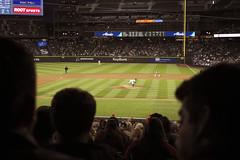 The Mariners pitching. (Ivo M. Vermeulen) Tags: baseball fujifilmxpro1 ivomvermeulen safecofield seattle stadium wa xpro1