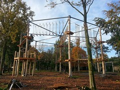 High-volume #ropescourse for amusement parks. Exceptional customer #experience #highropes http://j.mp/2c3CJJO (Skywalker Adventure Builders) Tags: high ropes course zipline zipwire construction design klimpark klimbos hochseilgarten waldseilpark skywalker